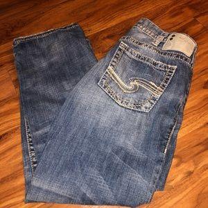 Silver tabs Nash 34/30 men's jeans